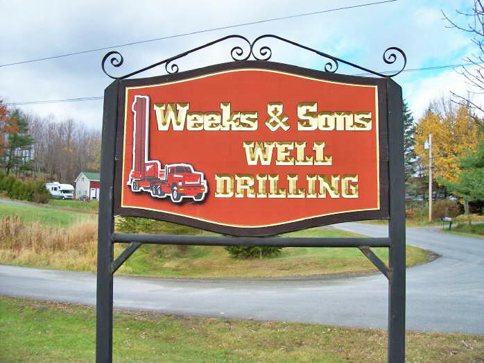 weeks & sons sign
